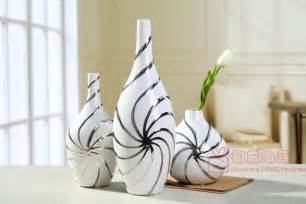 Home Decor Ornaments by Jingdezhen Ceramic Vase Ornaments European Modern Living