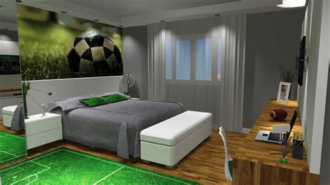 modern boys bedroom projects 3d architectural rendering service barbara