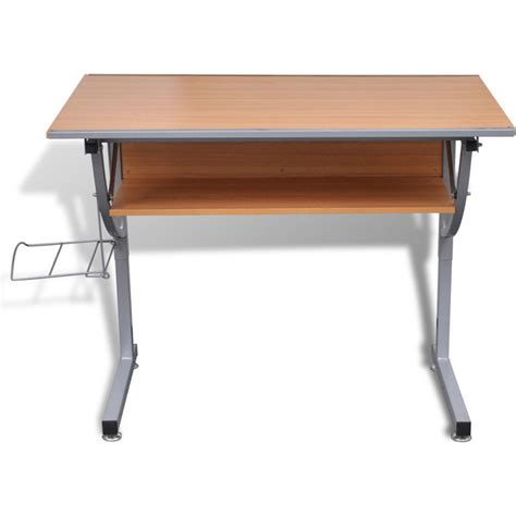 Tiltable Drafting Table With Storage Shelf Rack Buy Drafting Table With Storage