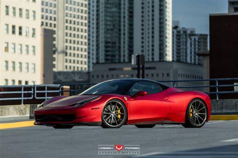 wheels ferrari rosso fuoco opaco and bianco ferrari 458 italia duo with
