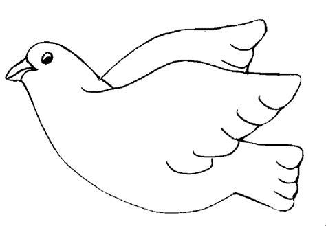dibujos para colorear de la paloma del espiritu santo paloma para colorear