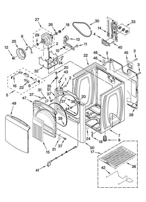 Kenmore-Elite model 11068062801 residential dryer genuine