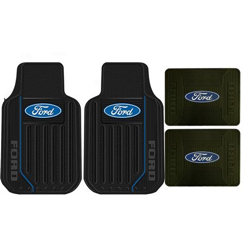 rubber floor mats with ford logo