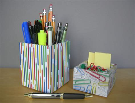 colorful desk accessories modern colorful square pencil cup desk accessories by