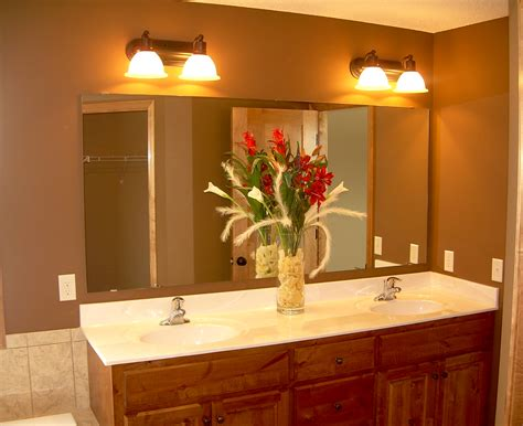 How To Choose A Bathroom Mirror Harkraft Installing Bathroom Light Fixture Mirror