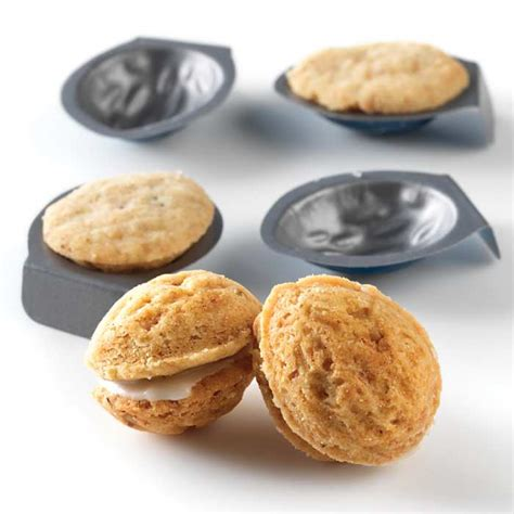 Cookie Mould by Walnut Cookie Molds Set Of 24