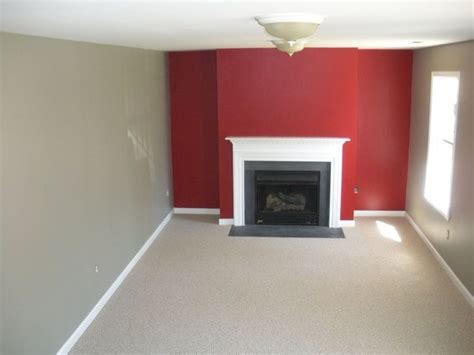 red accent wall living room benjamin moore caliente red rockport gray and wilmington