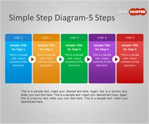 Free Simple Step Diagram For Powerpoint Is A Powerpoint Best Way To Make Powerpoint Templates