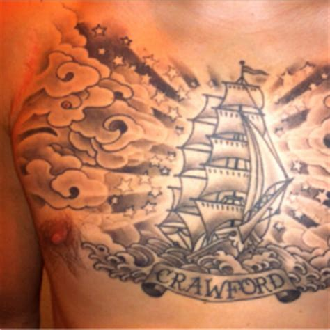 tattoo signifying family chest tattoos gallery tattoo collections