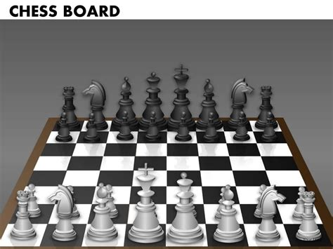chess board template award winning strategy slides showing chess board 2
