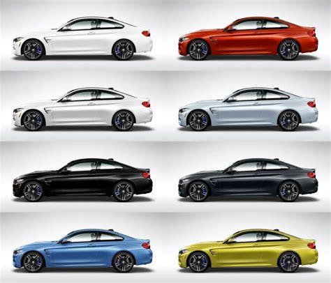 Bmw Colors by 2015 Bmw M4 Colors