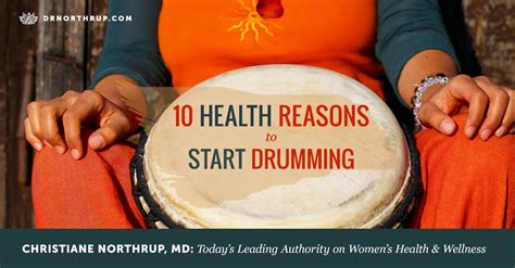 health benefits  drumming