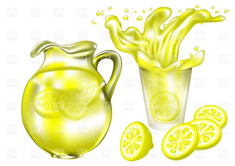 lemonade clipart lemonade in glass 30274 food and beverages