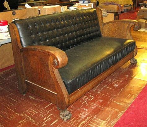 unique antique oak sleeper sofa