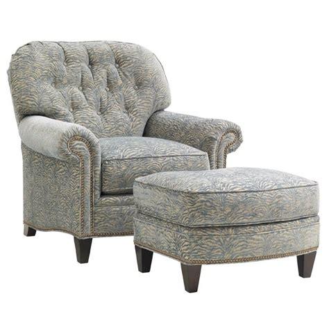Lexington Oyster Bay Bayville Fabric Arm Chair With Arm Chair With Ottoman