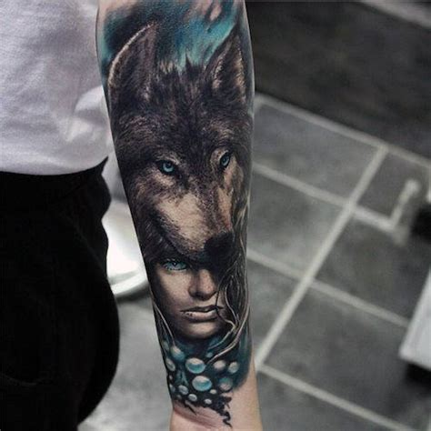 wolf eyes tattoo 70 wolf designs for masculine idea inspiration