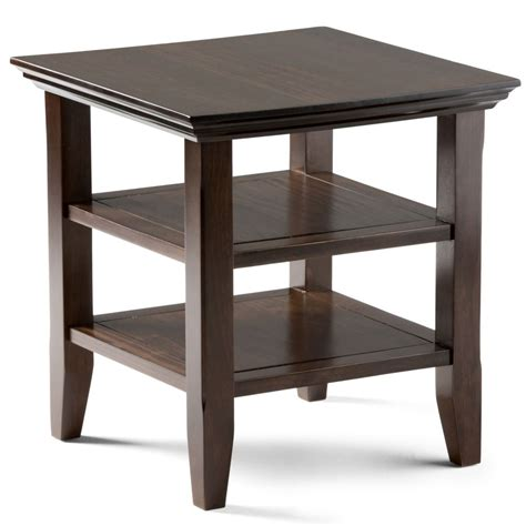 home depot side table acadian end table