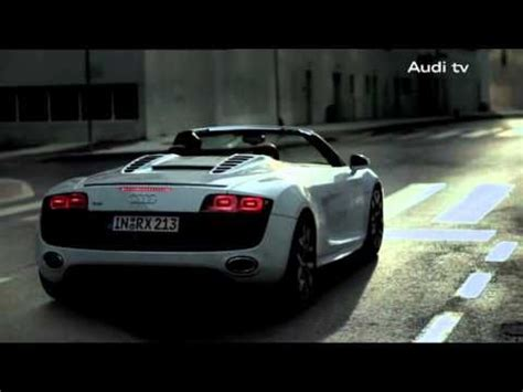 Audi R8 Werbung by Audi R8 Spyder Action Packed Commercial Advertising