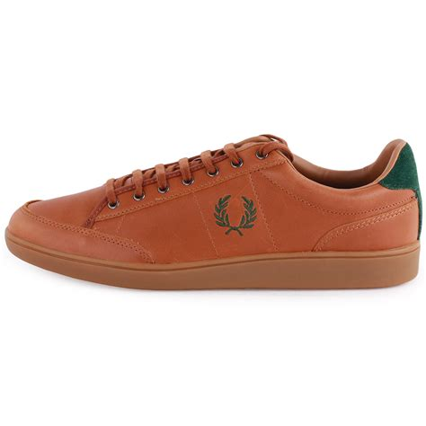 fred perry shoes fred perry hopman b5247 mens leather trainers new