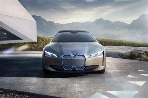 I Bmw Bmw Introduces The Tesla Fighter Bmw I Vision Dynamics