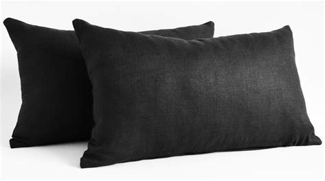 Black Pillow Shams by Pillow Shams Images