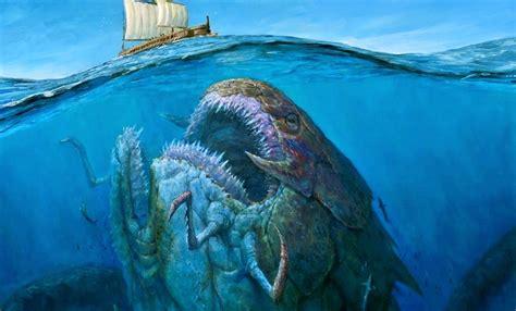 imagenes de criaturas mitologicas del mar image gallery monstruos marinos