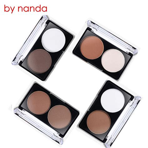 8 Colour Contour No 1 by nanda shading powder contour bronzer highlighter palette set trimming powder makeup