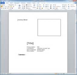 technical support report template technical report template techwriter