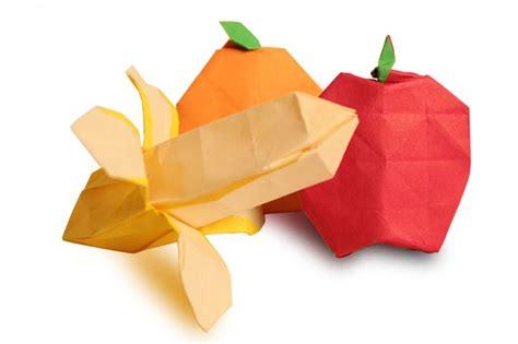 Origami Fruit - origami fruits origami