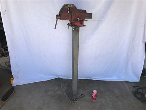 starrett bench vise starrett bench vise 015 5 1 2 inch jaws with steel stand athol mass