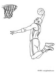 S&233lection De Dessins Coloriage Basketball &224 Imprimer Sur  sketch template