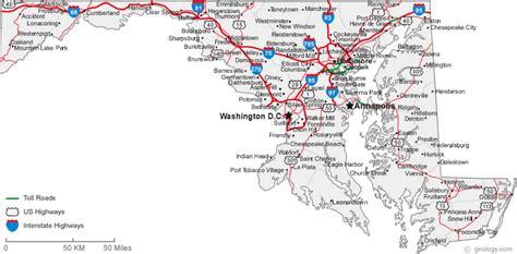 city map of maryland kayak