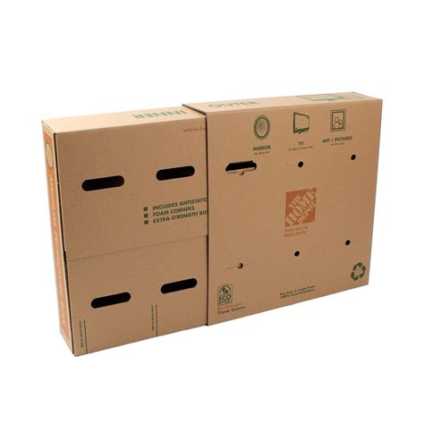 home depot small moving box moving boxes shipping supplies storage organization