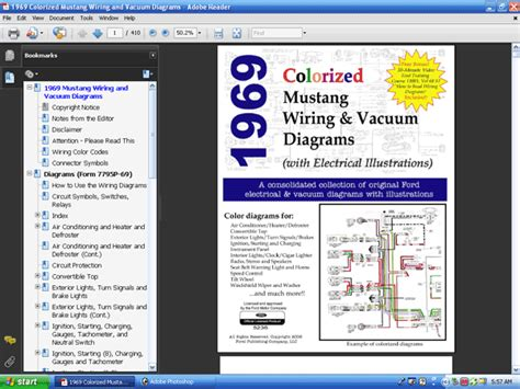 1969 mustang wiring diagram cowl 1969 free engine image