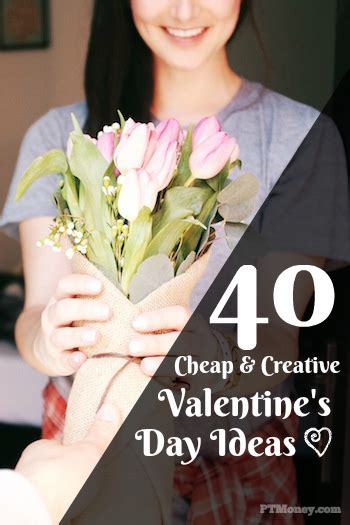 cheap valentines day 40 creative s day gift ideas pt money