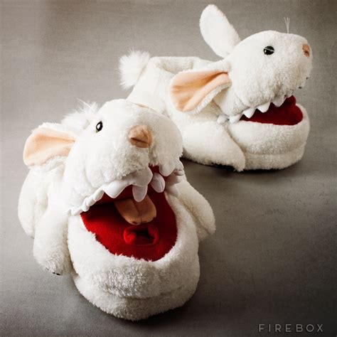 bunny house shoes killer bunny slippers buy at firebox com