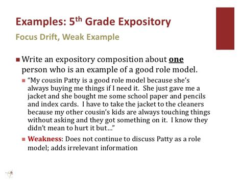 sle expository essay 7th grade expository writing exles for 2nd grade a plan