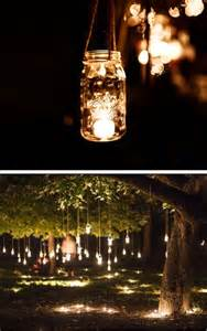 outdoor wedding with lights 15 diy wedding decorations that will your mind