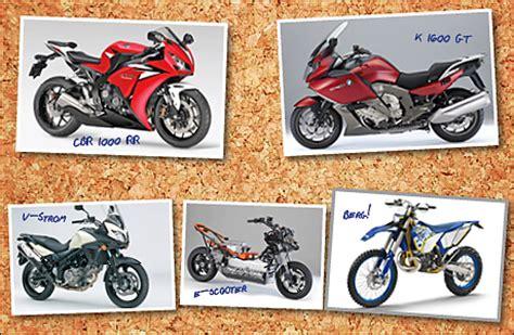 Verschiedene Motorradtypen by Modellneuheiten Tourenfahrer Online