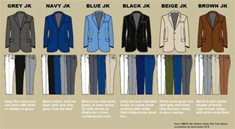 color matching clothes what of does a grey sport coat work with