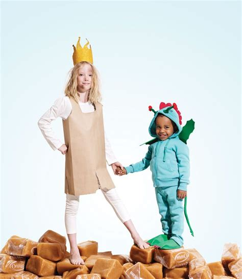 How To Make Paper Costumes - paper bag princess and costumes