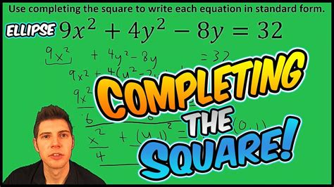 conic sections completing the square conic sections completing the square 86 1 1021number12