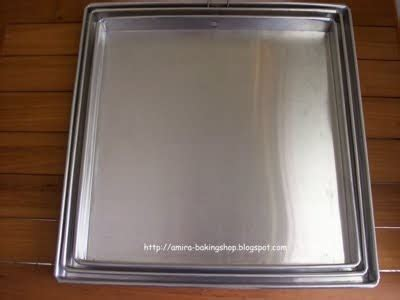 Loyang Mini Aluminium Tebal Stainless amira baking shop aneka loyang quality price