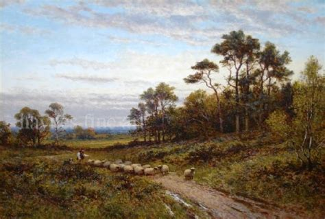 Landscape Artists Uk Alfred Augustus Glendening Snr Artist Biography And