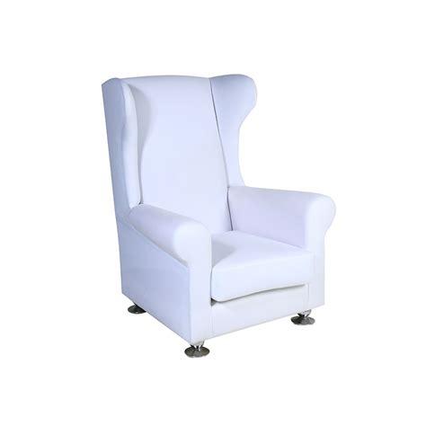 white wingback wingback white unik furniture hire durban kwazulu natal