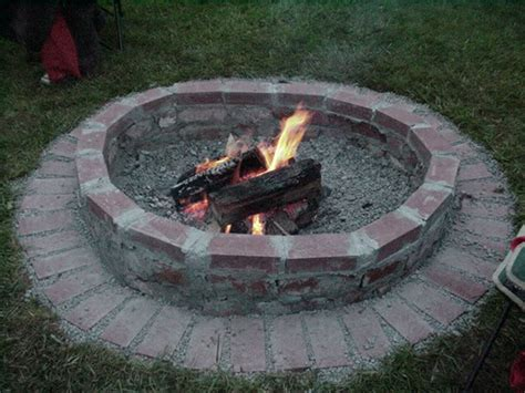 backyard fire pit plans simple backyard fire pit ideas marceladick com