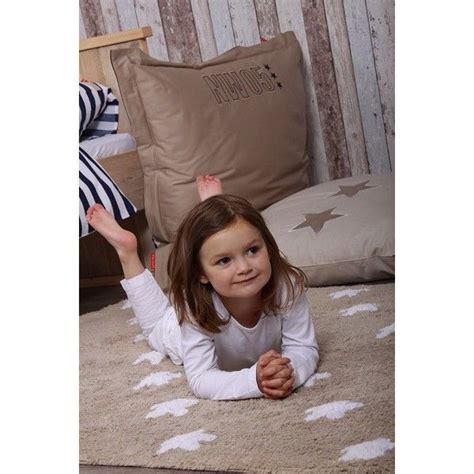 teppich 120x160 tapis en coton 201 toiles taupe 120x160 canals sur