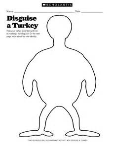 turkey in disguise template printable best photos of disguise a turkey template turkey