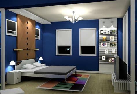 schlafzimmer dunkelblau holztisch wohnzimmer