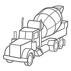 Top 25 Free Printable Truck Coloring Pages Online sketch template